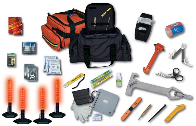 EMI Road Warrior Emergency First Aid Kit