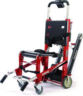 Ferno EZ glide with powertraxx evacuation stair chair